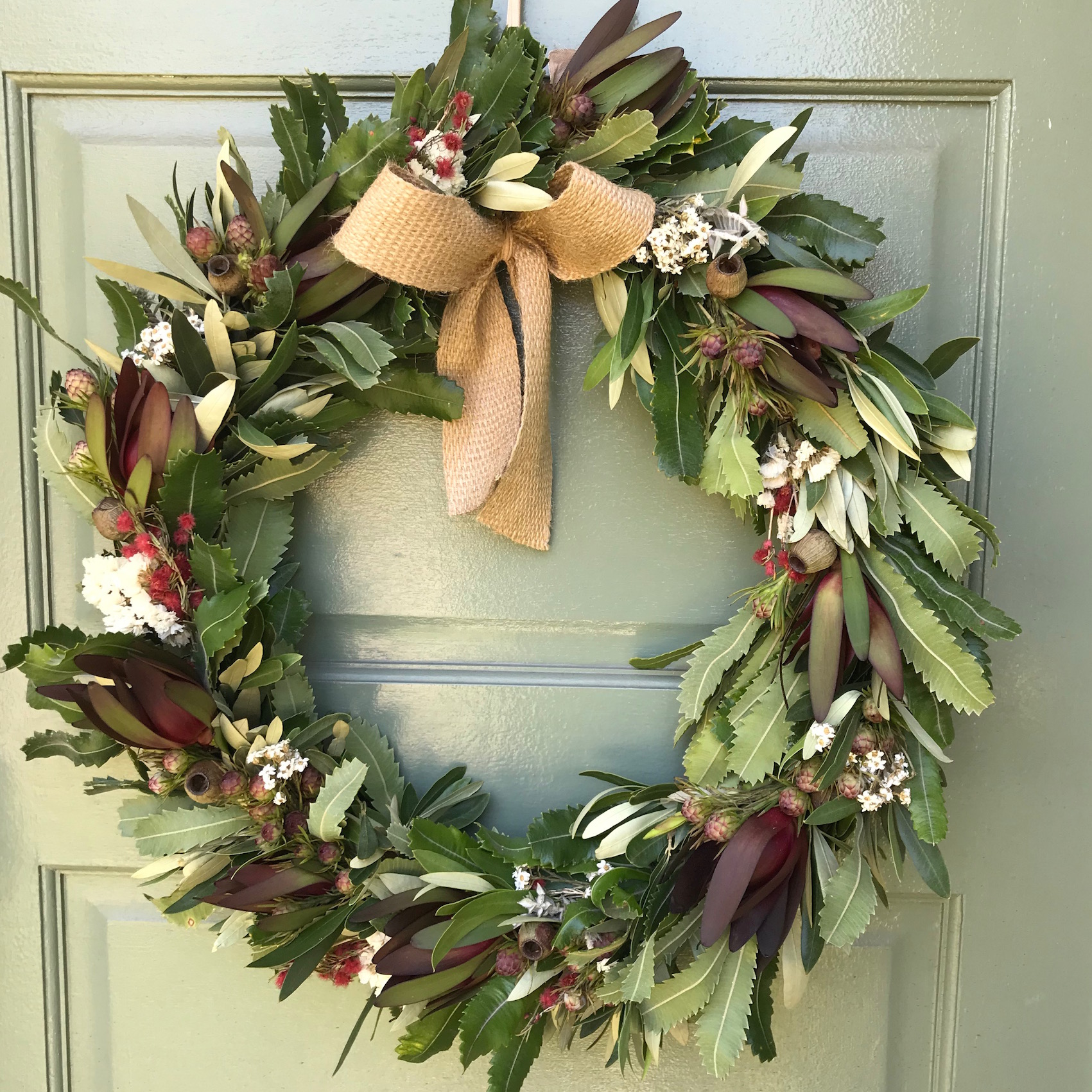 Christmas Wreath Making Workshop In Chippendale Sydney