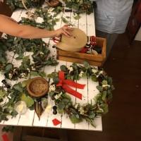 Christmas Floral Wreath Making Workshops in Sydney