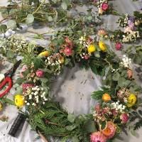 Real Christmas Wreath Making Workshop