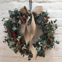 Christmas Floral Wreath Making Workshop in Sydney