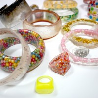Embedded Clear Resin Jewellery Workshops in Sydney
