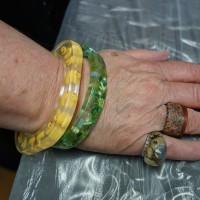 Embedded Clear Resin Jewellery Workshops in Sydney