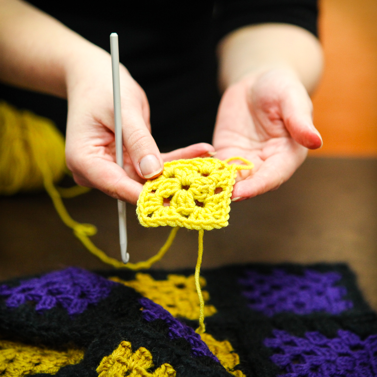 Crocheting Lessons : Beginners Crochet Lessons in Sydney