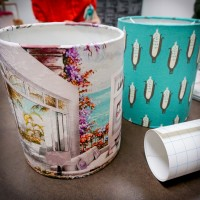 Lampshade Making Workshop at Finders Keepers Markets