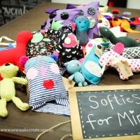 Softies for Mirabel Workshop 2014