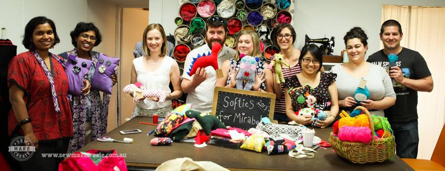 Softies for Mirabel Workshop 2013