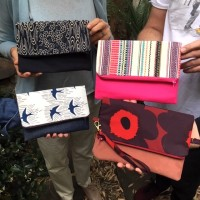 Zipper Clutch Sewing Workshop in Sydney