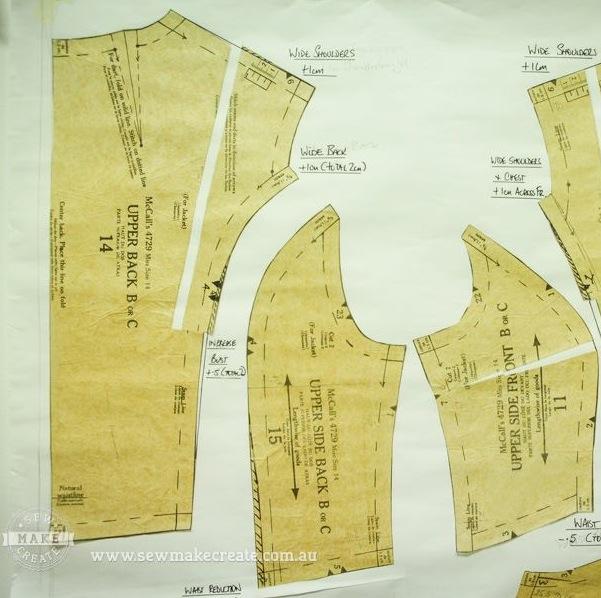 Adjusting Commercial Dress Patterns Workshop In Sydney
