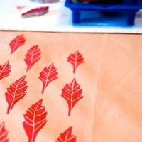 Carving Stamps for Paper and Fabric Printing Workshop