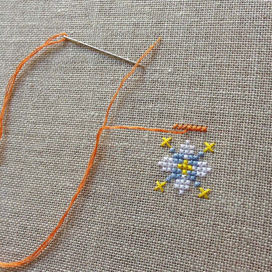Beginners Cross Stitch Embroidery Class In Sydney