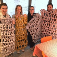 Extreme Crochet Blanket Workshop in Sydney