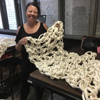 Giant Crochet Blanket Workshop in Sydney