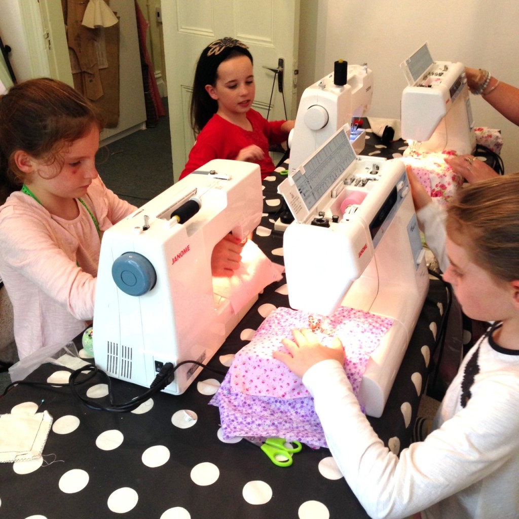 Kids Introduction to Sewing Classes Sydney