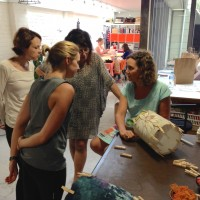 Lampshade Making Workshop in Sydney