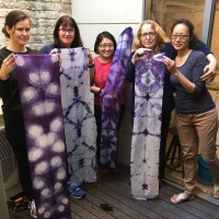 Natural Fabric Dyeing Workshop in Sydney