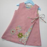Make a Girls Reversible dress