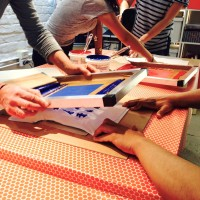 Screen Printing Workshop in Sydney