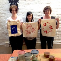 Screen Printing on Fabric Classes Sydney