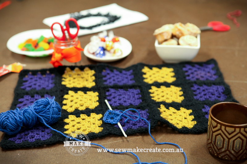 Crocheting Classes : Beginners Crochet Class Workshop - Sew Make Create