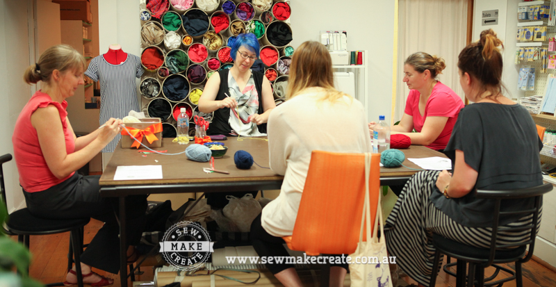 Beginners Crochet Class Workshop - Sew Make Create