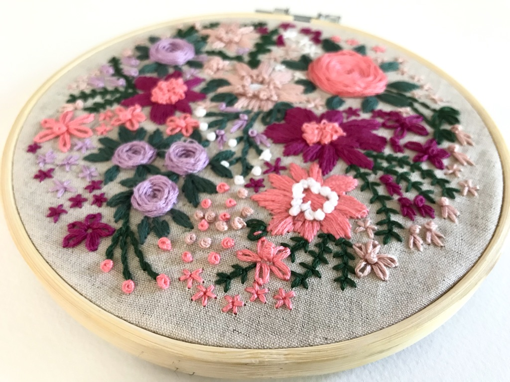 Intermediate Hand Embroidery Classes in Sydney