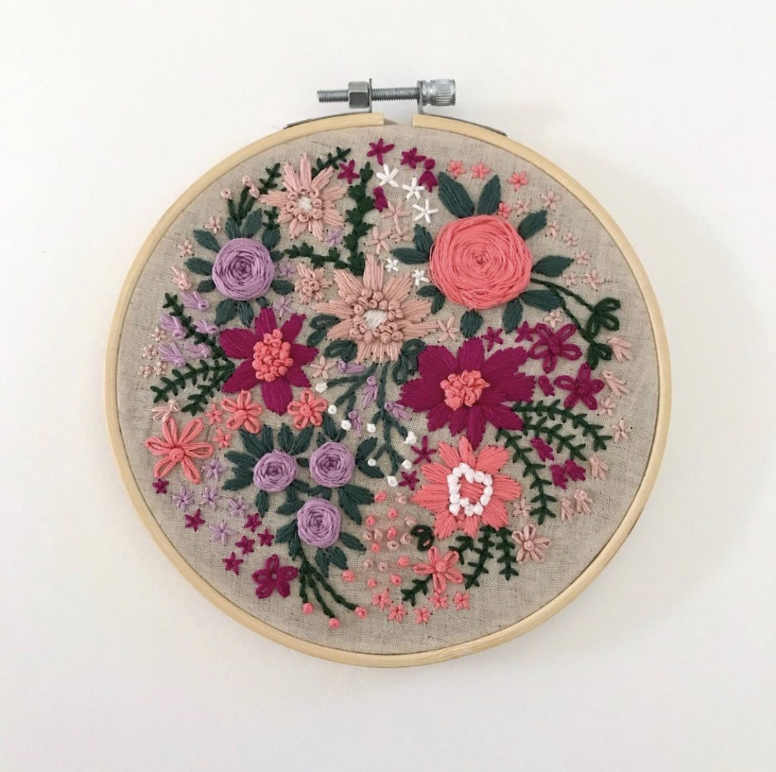 Hand Embroidery Workshops in Sydney