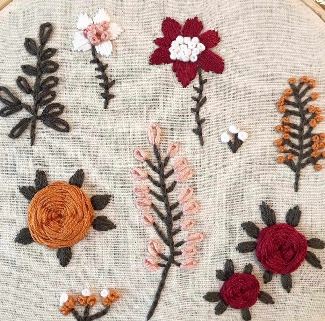 Hand Embroidery Classes at Sew Make Create