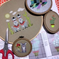 Cross Stitch Embroidery Lessons in Sydney